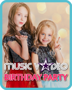 Music Video Birthday Party