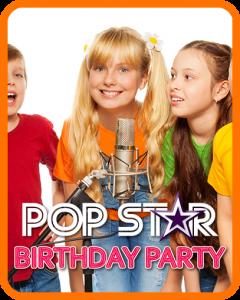 Pop Star Birthday Party