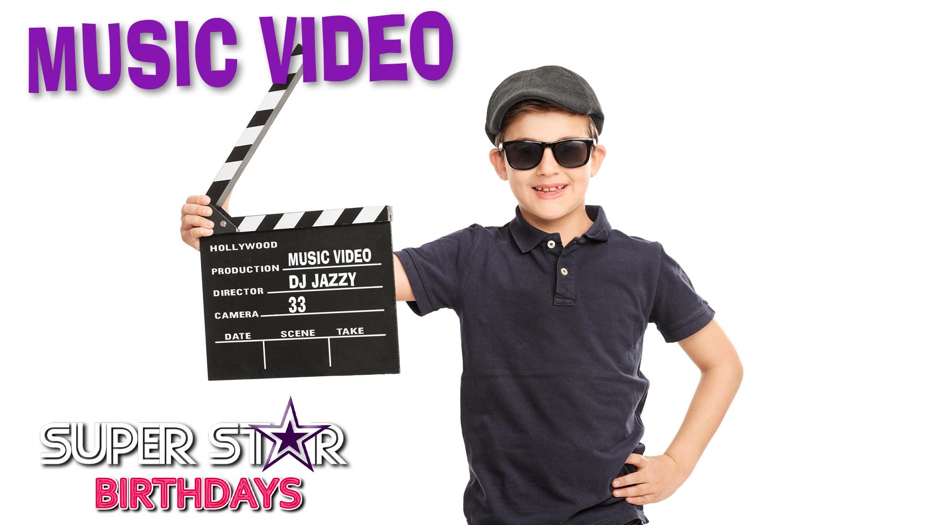 Music Video Birthday Party