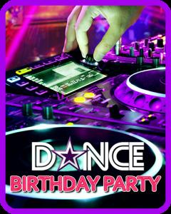 DJ Dance Birthday Party